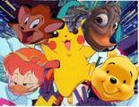 Winnie and frieds imitate team rocket