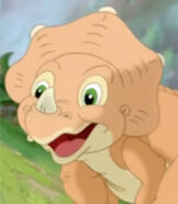 Cera in The Land Before Time 14 Journey of the Brave