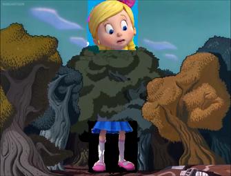 Goldie in Wonderland Goldie grows a big size