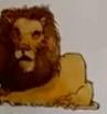 Lion usborne my first thousand words