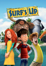 Surf's up poster spoof