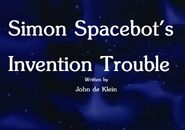 Simon Spacebot's Invention Trouble Title Card