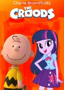 The Croods (Charlie BrownRockz Style; 2013 Movie Poster)-0