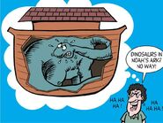 Dinosaurs In Noah's Ark