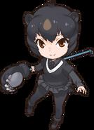 Jap Black Bear