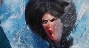 Scarlet got frozen