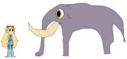 Star meets Columbian Mammoth