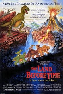The Land Before Time English Poster