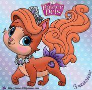 Treasure-Princess-Palace-Pet-Coloring-Page-SKGaleana-image