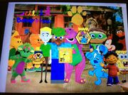 Barney & Friends and Gold Clues