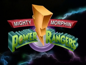 Mighty Morphin Power Rangers Season 1 to 3 logo TV Version