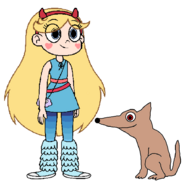 Star meets Kit Fox