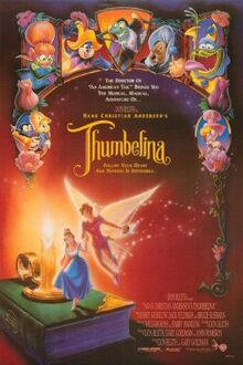 Thumbelina English Poster