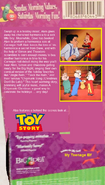 Christmas with the Chipmunks VHS back cover