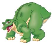 Spike land before time