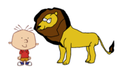 Stanley Griff Meets African Lion