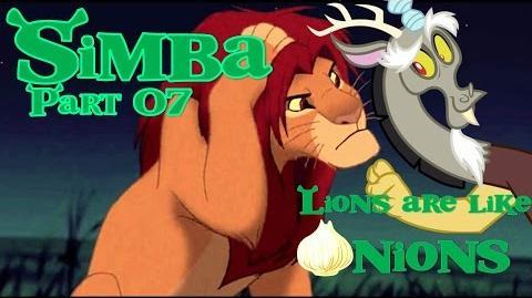 """Simba"" (Shrek) Part 07 - Lions Are Like Onions"