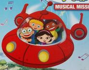 Leo, June, Quincy, Annie and Rocket (Little Einsteins)