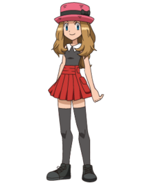 Serena in Her Old Design