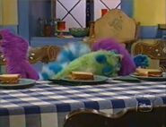 Treelo & Pip and Pop crying in Bear in the Big Blue House: Tutter's Tiny Trip