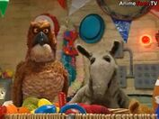 Ollie and Armstrong crying in Jim Henson's Animal Show: Rhino & Gorilla