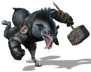 Boss Wolf As Brutish