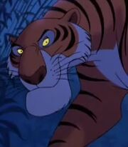 Shere Khan in The Jungle Book 2