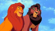 Simba and Kovu (The Lion King and The Lion King 2 - Simba's Pride)