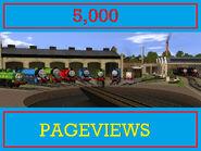 5 000 pageviews by originalthomasfan89-d6b9u66