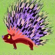 Porcupine in Tinga Tinga Tales