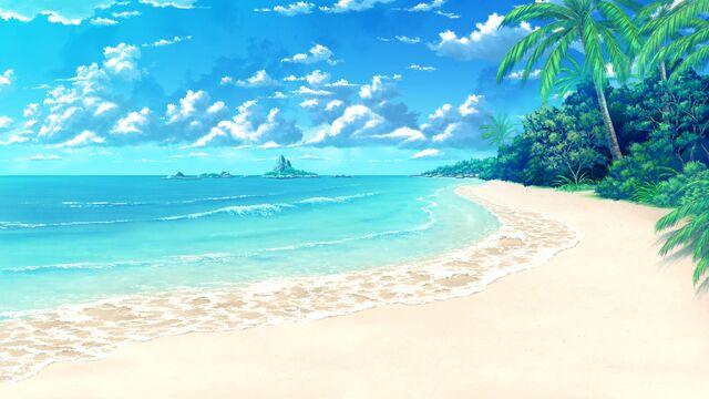 Anime beach Nude Photos 37