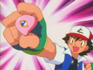 Ash gets the Coral Eye Badge