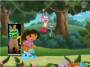 Dora and Friends Look At Boots Hang