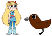 Star meets Chimney Swift