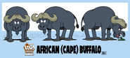 Buffalo, African Cape (The Loud House)