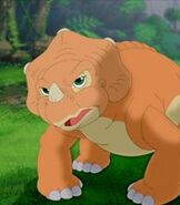 Cera in The Land Before Time 11 Invasion of the Tinysauruses