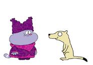 Chowder meets Prairie Dog