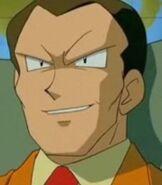 Giovanni in Pokemon Mewtwo Returns