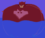 Owlette Inflated into the Water