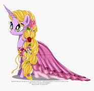 Ponified Rapunzel