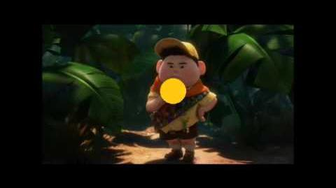 Russell and the Giant Peach part 6 - Garbage Picking The First Taste of the Peach