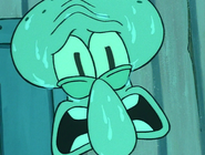 Scared Squidward