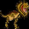 Warren the Dilophosaurus