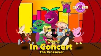 Barney & The Backyard Gang Crossover Series Barney In Concert The Crossover