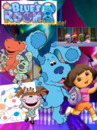 Blue's Room- Blues Party Playdate- Poster