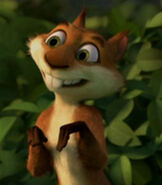 Hammy in the Over the Hedge Shorts