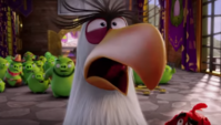 Mighty Eagle Surprised