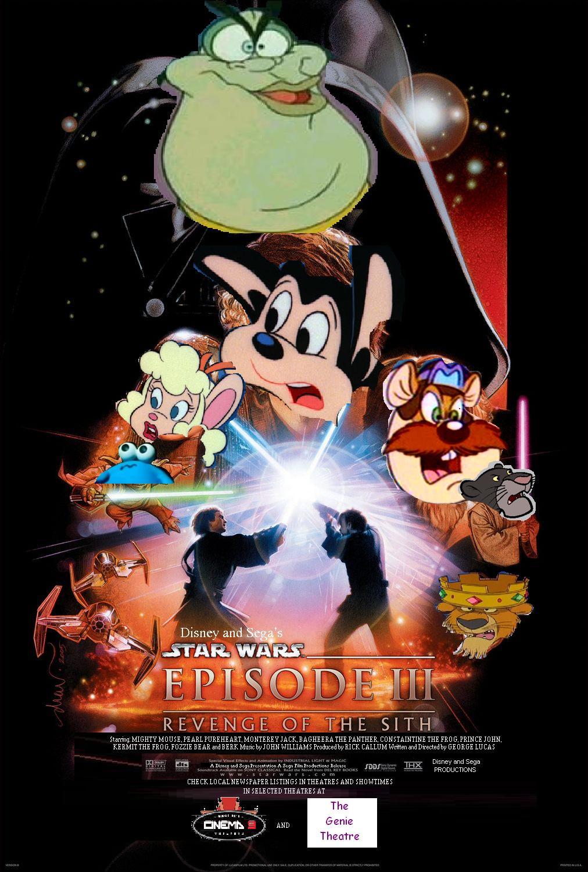 Star Wars Episode 3 Revenge Of The Sith Disney And Sega