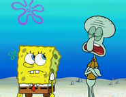Squidward says patrick will not leave us alone