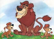 Lions-in-baby-animals-from-disney-discovery-series